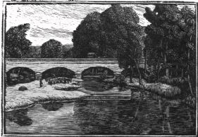 The Bridge at Villeneuve, Loubet